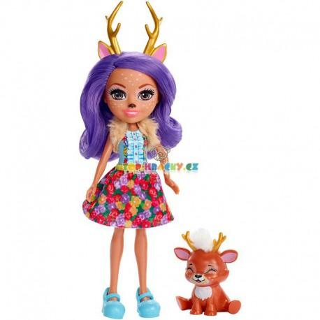 Enchantimals panenka Danessa Deer a jelen