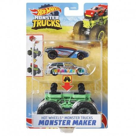 Hot Wheels Monster Trucks Stvořitel zelený