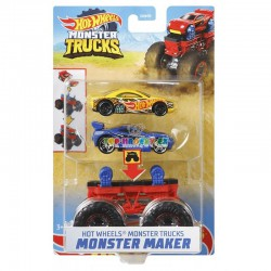 Hot Wheels Monster Trucks Stvořitel oranžový