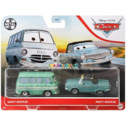 Disney Pixar Cars Dusty Rusteze a Rusty Rusteze