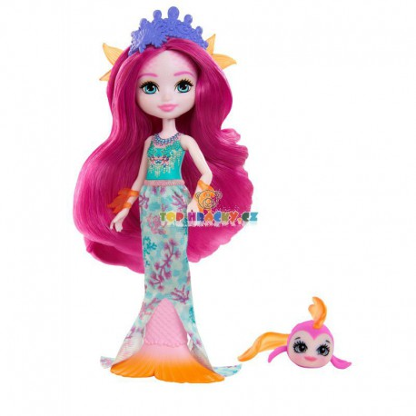 EnchanTimals panenka Maura Mermaid a rybka Glide