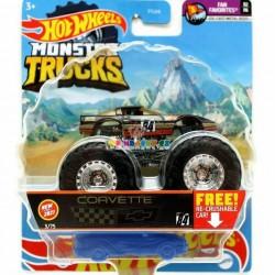 Hot Wheels Monster Trucks Corvette 84