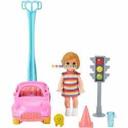Barbie Příběh z deníku chůvy set Auto