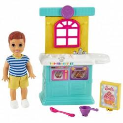Barbie Příběh z deníku chůvy set Kuchyně