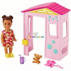 Barbie Příběh z deníku chůvy set Domeček