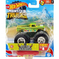 Hot Wheels Monster Trucks Midwest Madness 36/75