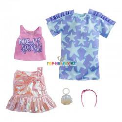 Barbie fashion oblečky top a šaty