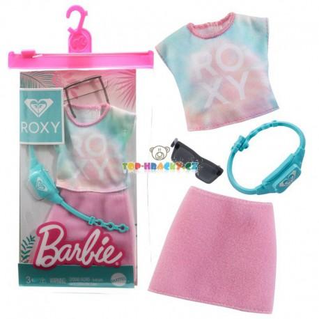 Barbie oblečky Roxy sportovní komplet se sukní