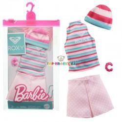 Barbie oblečky Roxy sportovní set s kraťasy