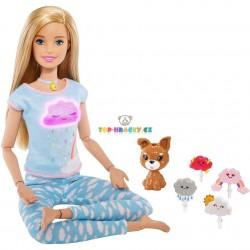 Barbie wellness panenka a meditace