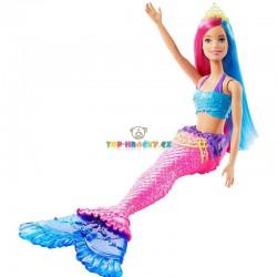 Barbie Kouzelná mořská víla růžová