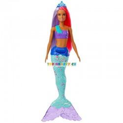 Barbie Kouzelná mořská víla tyrkysová