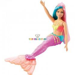 Barbie Kouzelná mořská víla fialová