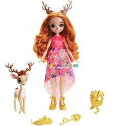 Enchantimals Royal panenka Queen Daviana a jelen