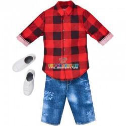 Barbie Kenovy oblečky s košilí
