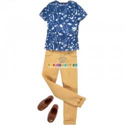 Barbie Kenovy oblečky s tričkem
