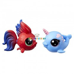 LPS Littlest Pet Shop rybka a narwhal