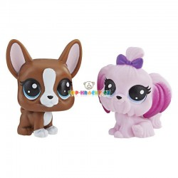 LPS Littlest Pet Shop Bostonský teriér a jorkšír
