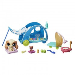 LPS Littlest Pet Shop set Táboření 88 kokršpaněl