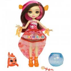 EnchanTimals Vodní svět panenka Clarita Clownfish a zvířátko
