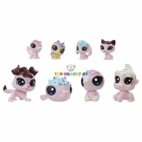 LPS Littlest Pet Shop Frosting Frenzy 8ks zvířátek s pejskem
