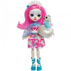 EnchanTimals panenka Saffi labuťová se zvířátkem