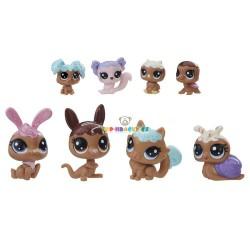 LPS Littlest Pet Shop Frosting Frenzy 8ks zvířátek s klokanem