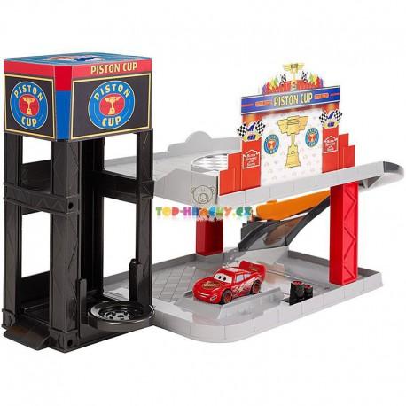 Disney Pixar Cars herní set Garáž
