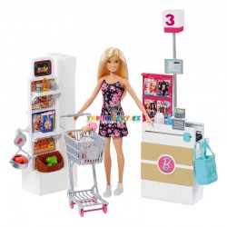 BRB Barbie Supermarket hrací set
