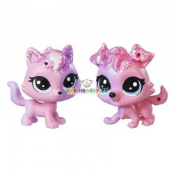LPS Littlest Pet Shop duhová 12 kočka a 11 pes
