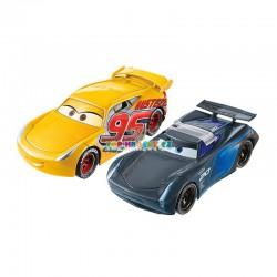Disney Pixar Cars 3 překlápěcí a závodící auta Jackson Storm