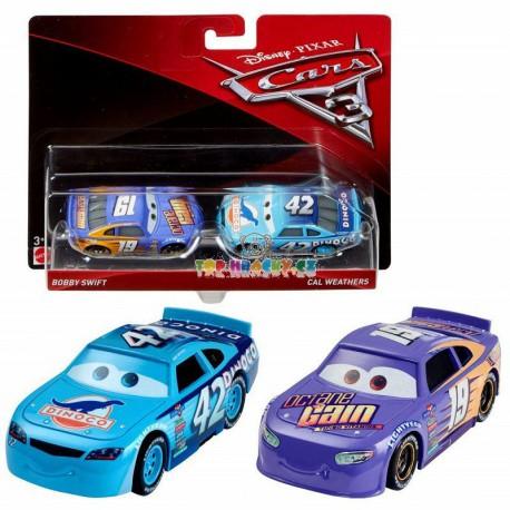 Disney Pixar Cars 3 Bobby Swift a Cal Weathers