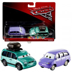 Disney Pixar Cars 3 Mini a Van karavan