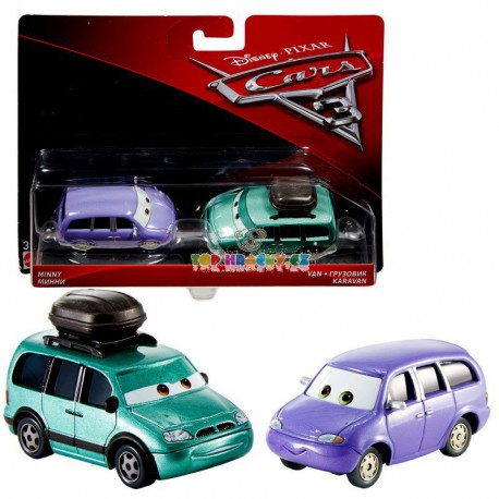 Disney Pixar Cars 3 Mini a Van karavan