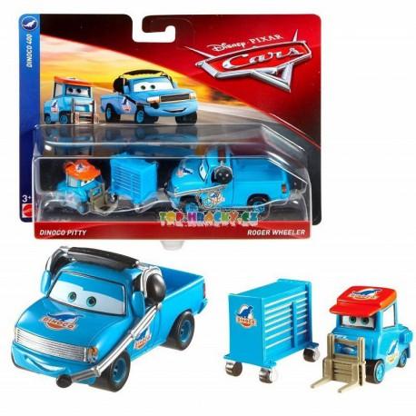 Disney Pixar Cars Dinoco Pitty a Roger Wheeler